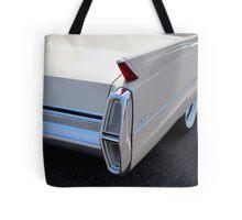 White Cadillac Fin Tote Bag