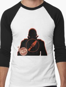 RED Soldier - Team Fortress 2 Men's Baseball ¾ T-Shirt
