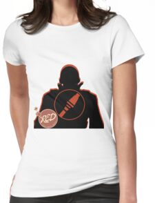 RED Soldier - Team Fortress 2 Womens Fitted T-Shirt