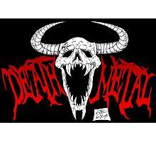 Death Metal Photographic Print