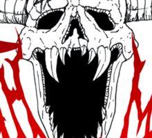 Death Metal Sticker
