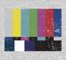 TV test Lines (Half t-shirt 02) Baby Tee
