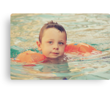 Floaties Canvas Print