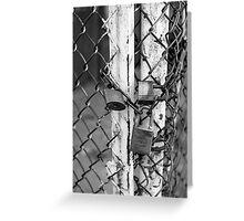Locks Greeting Card