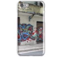 Graffiti piece with Deez iPhone Case/Skin