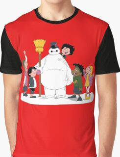 Big Hero 6 Team Graphic T-Shirt