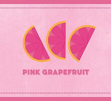 Pink Grapefruit (Color Palate) by janna barrett