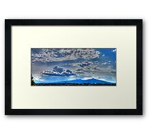 ©HCS Blue Shine Framed Print