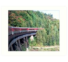 Algoma Train 2 Art Print