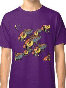 Punk Hornet Pattern Classic T-Shirt