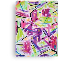 dragonflys in the pink Canvas Print