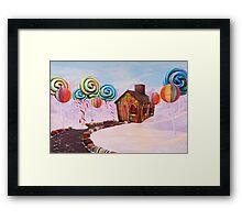 Candy World Revisited Framed Print