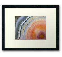 Radiant (Ocean Jasper) Framed Print
