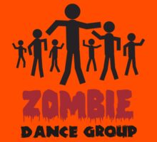 Zombie dance crew Kids Clothes