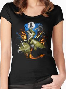 Extinction Women's Fitted Scoop T-Shirt