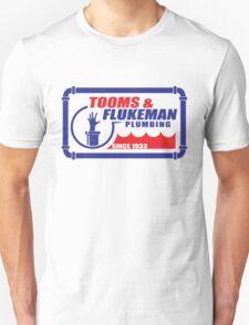 Tooms and Flukeman Plumbing T-Shirt