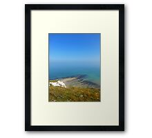 Beachy Head Blues Framed Print