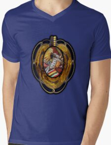©DA Mural IV Paintography Mens V-Neck T-Shirt