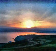 Sifnos Sunset #1 by doggylips