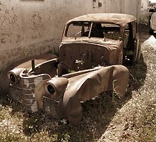 Antique Vintage Old Car by Emily Heatherly