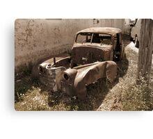 Antique Vintage Old Car Canvas Print