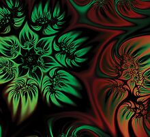 Fall Flowers Fractal by AntiCollegial