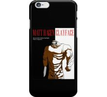 Scars of Clay iPhone Case/Skin