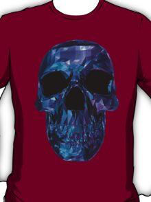 Polygon Skull - Blue / Purple T-Shirt