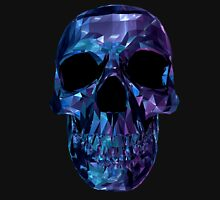 Polygon Skull - Blue / Purple Unisex T-Shirt