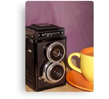 Argus Argoflex E and Coffee Metal Print
