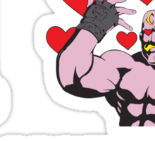 that guy who always has hearts around him on that show you love Sticker