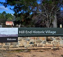 Hooters Travels # 9 - Hill End NSW Australia by Phil Woodman