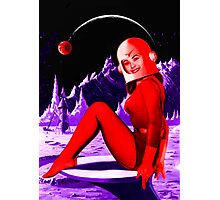 Space Babe Photographic Print