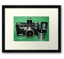 Argus C3 with Lenses Framed Print