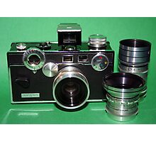 Argus C3 with Lenses Photographic Print