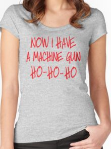 Now I have a machine Gun Die Hard Women's Fitted Scoop T-Shirt