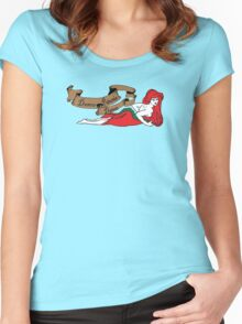 Dance Petunia Dance Women's Fitted Scoop T-Shirt