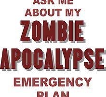 Zombie Apocalypse by CptnLaserBeam