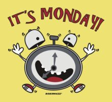 It's Monday... Wake Up! by Kokonuzz