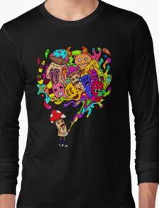 Mushroom Jizz Long Sleeve T-Shirt