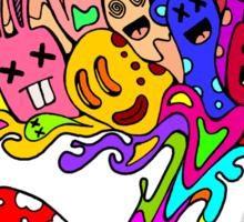 Mushroom Jizz Sticker
