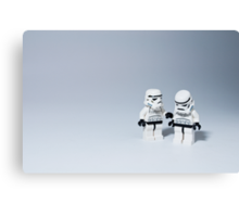 'I had friends on that Death Star.' Canvas Print