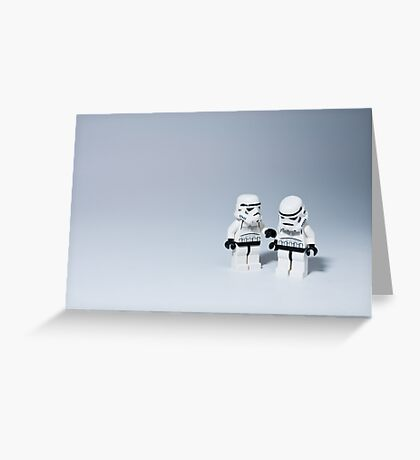'I had friends on that Death Star.' Greeting Card