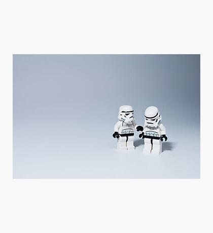 'I had friends on that Death Star.' Photographic Print