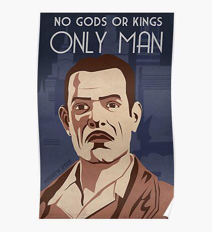 Bioshock - Andrew Ryan Propaganda Poster