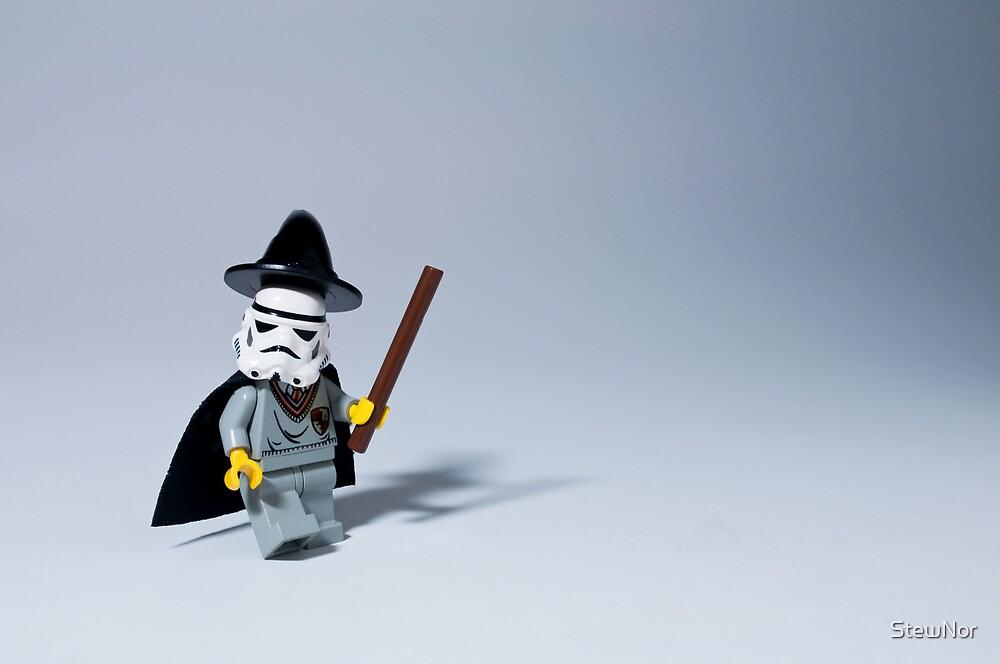 'You're a wizard, TK421' by StewNor
