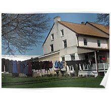 Mennonite Laundry 2 Poster