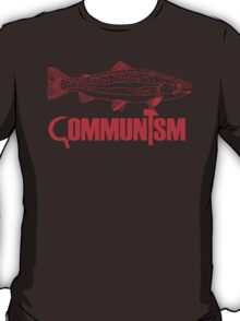 """Movie Clue """"Communism was just a red herring"""" T-Shirt"""