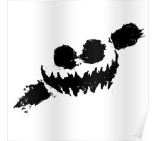 Knife Party - Haunted House Logo Poster