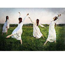 Rain Dances Photographic Print